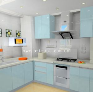 Super Matt PVC Film with Solid Colors for Kitchen Cabinets pictures & photos