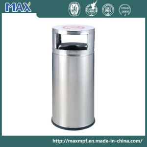 Outdoor Classic Style Stainless Steel Round Waste Bin pictures & photos