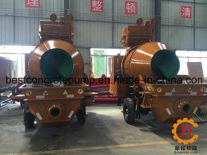 Hbt30c-I Automatic Concrete Mixing Trailer Pump, High Pressure Pump pictures & photos