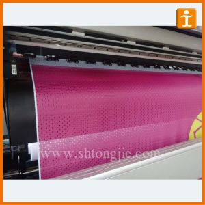 Cheap Polyester Mesh Fabric Banner pictures & photos