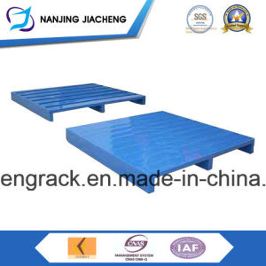 High Quality Logistics Warehouse Steel Pallet by Powder Coating or Galvanized pictures & photos