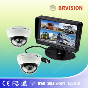 Bus Surveillance System/7inch TFT Car Monitor / Dome Camera pictures & photos