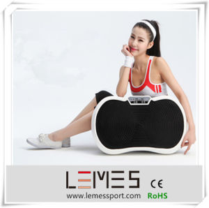 Hot Sale Ultrathin Vibration Plate Crazy Fit Massage pictures & photos
