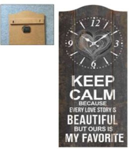 Wooden Clock for Home Decor pictures & photos