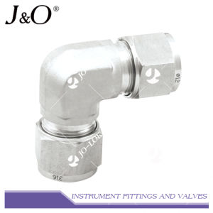Swagelok Stainless Steel Pipe Fitting Connector 90 Elbow Pipe Fitting pictures & photos