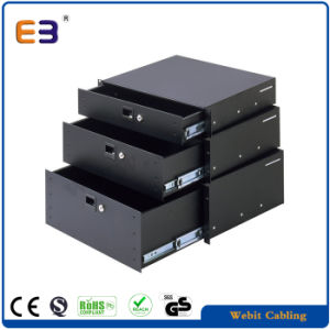 19 Inch Rack Mountable Drawer for Network Cabinet pictures & photos