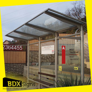 Bus Stop Shelter with Scrolling Sign (item44) pictures & photos