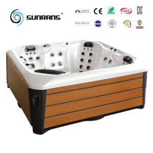 2017 Outdoor Shower SPA Massage Bathtub Sanitary Ware for 5-Person pictures & photos