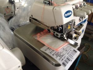Br-747 Four Thread Overlock Sewing Machine (SIRUBA TYPE) pictures & photos