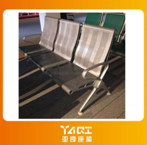 High Back 3-Seater Steel Waiting Chair for Airport Hospital Station (YA-108) pictures & photos