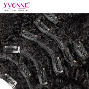 100% Human Hair Clip in Curly Hair Extensions pictures & photos