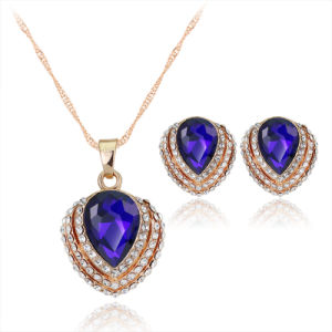 Wholesale Fashion Jewellery Set of Wedding Ring, Earring, Bracelet and Necklace in 925 Sterling Silver Fashion Jewelry Set (521853864603) pictures & photos