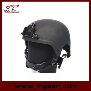 Ibh Military Camouflage Helmet with Nvg Mount & Side Rail Action Version pictures & photos