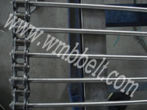 Stainless Steel Rod Chain Mesh Belt pictures & photos