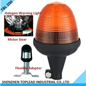 Flexible Adapter Halogen Rotating Warning Lamp / Revolving Emergency Warning Light / Rotary Traffic Light (TBL 200)