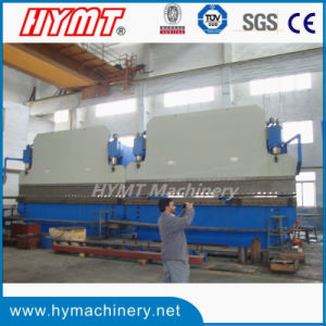 2-We67k-1000X6000 Steel Plate CNC Hydraulic Tandem Bending Machine pictures & photos