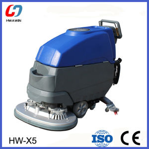 Easy Operated Hand Push Type Floor Scrubber Cleaning Machine pictures & photos