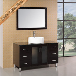 Hotel and Home Used Solid Wood Bathroom Vanity pictures & photos
