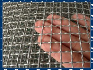 Crimped Iron Wire Mesh Made in China High Quality Anping Factory Supply pictures & photos