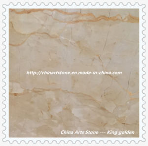 Chinese White/Beige/Yellow/Golden Marble Tile for Lobby Floor pictures & photos