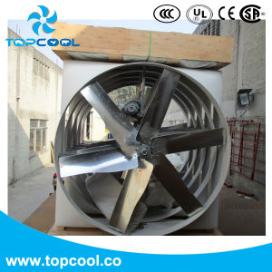 "55"" Exhaust Fan with Aluminum Extrusion Frame and PVC Shutter pictures & photos"