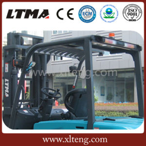 Ltma EPA Aprroved 5t Batteery Forklift with Forklift Battery pictures & photos