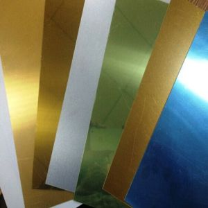 0.4mm 0.45mm 0.5mm 1.0mm Sublimation Aluminum Blank Sheet pictures & photos