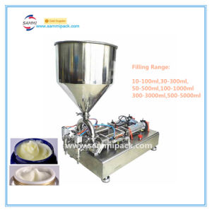 High Quality Double Heads Pneumatic Paste Filling Machine (G1WG-2Y-500)
