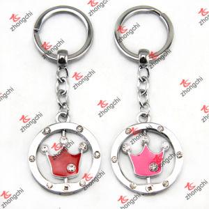 Enamel Stone Crown Keychain/ Key Chain Wholesale (KR264)