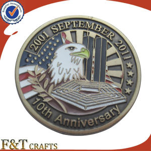 Custom 3D Metal Challenge Eagle Military Souvenir Coins (FTCN1992A) pictures & photos
