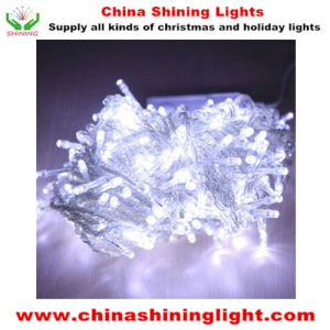 Clear Wire IP20 IP44 IP65 Varies Color LED Holiday Lights pictures & photos