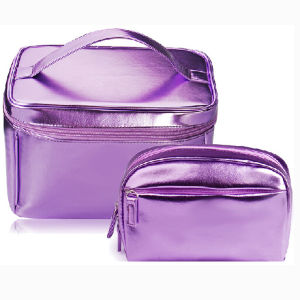 Shiny PU Cosmetic Pouch for Makeup pictures & photos