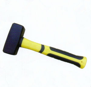 German- Type Stoning Hammer with Plastic-Coating Handle pictures & photos