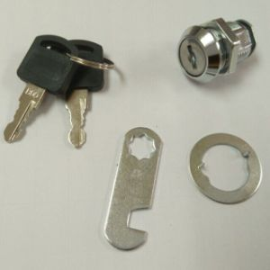 Chrome Cam Lock for Furniture Cabinet Drawer (F0902) pictures & photos