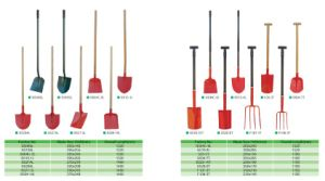 Shove Spade Garden Tools Agricultural Tools Wth Handle pictures & photos