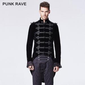 2015 Autumn New Design Punk Rave Black Man Jacket (Y-593) pictures & photos