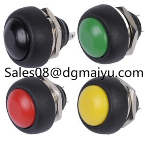 Small Button Switch Waterproof Reset 12mm Push Button Switch pictures & photos