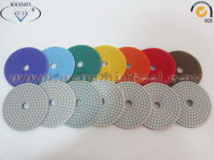 High Quality Diamond White Polishing Pads for Stone pictures & photos