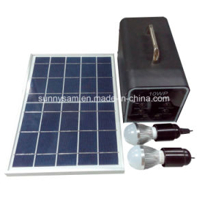 Portable 10W Solar Home Power system for Camping Home Use pictures & photos