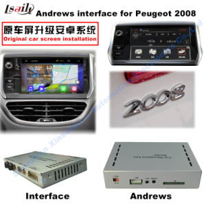 Update Android GPS Interface WiFi Bluetooth for Peugeot 2008 pictures & photos