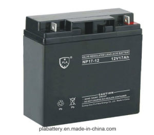 Sealed Lead Acid Battery 12V17ah with Ce