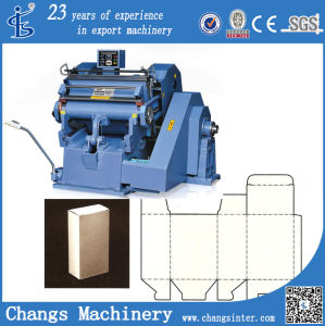 Ml Series Sheet Paper Tree Wood Pipe Die Cutting Machine Price pictures & photos