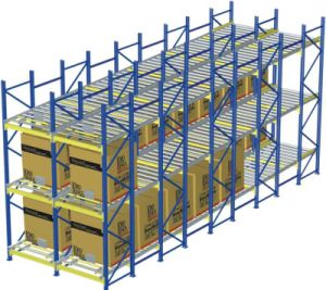 Warehosue Storage Pallet Rolling Rack pictures & photos