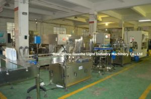 Automatic Liquid Disinfectant Filling Machine with Bottle Packaging Line pictures & photos