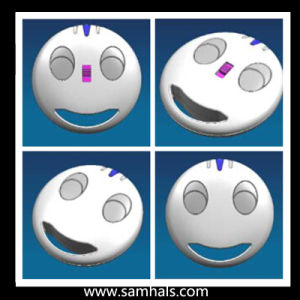 Wireless Remote Control Duplicator with Smile Faces Plastic Case. pictures & photos