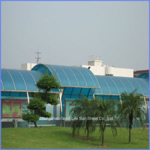 100% Bayer Material Blue Polycarbonate Roofing Garage with UV Protection pictures & photos