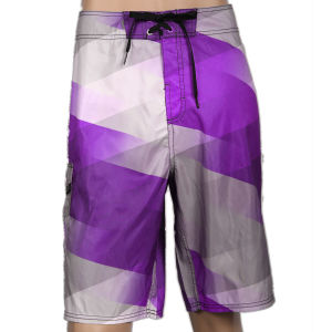 Discount Men′s Sublimation 4 Way Stretch Board Shorts pictures & photos