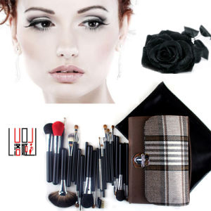 24 PCS High Quality Natural Hair Cosmetic Tool Professional Makeup Brush