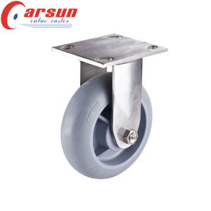 5 Inch Heavy Duty Swivel Caster with Round Tread TPR Wheel Performa Wheel Castor pictures & photos