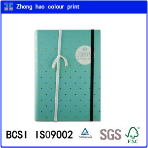 Office Stationery Book/A5 Writting Book/Colour Printing Note Book/Cyan Cover Journal Spiral Binding Notebook (150526007)